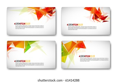 Modern Business-Card Set | EPS10 Compatibility Required
