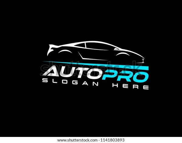 Modern Car Logo Design Inspiration Stock Vector Royalty Free 1141803893