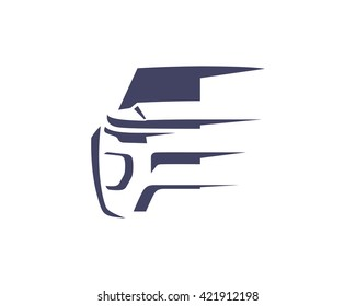 Modern Car Logo Symbol - SUV Front View