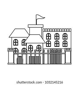 Modern castle icon image