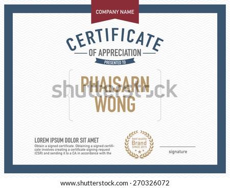 modern certificate template のベクター画像素材 ロイヤリティフリー