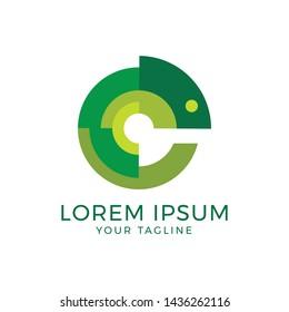 Modern Chameleon Logo Design Company
