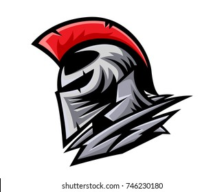 Modern Charismatic Knight Leader Logo