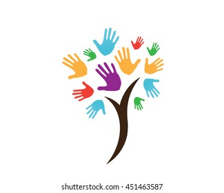 Modern Charity Organization Logo - Charity Tree Of Life Social Event