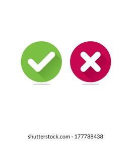 Modern Check Mark Icons