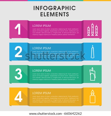 Modern church infographic template infographic design stock vector modern church infographic template infographic design with church icons includes can be used for maxwellsz