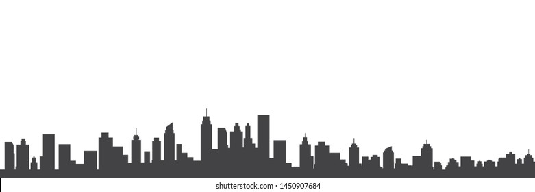 Modern City Skyline Vector illustration