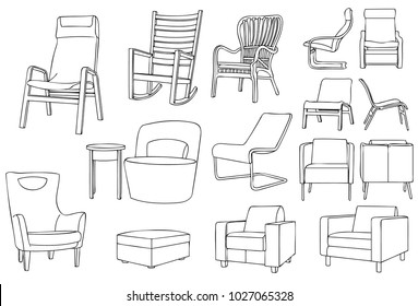 Modern and Classic Chair