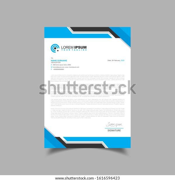 Modern Clean Letterhead Design Template Business Stock Vector Royalty Free 1616596423,Fashion Designer Business Card Ideas
