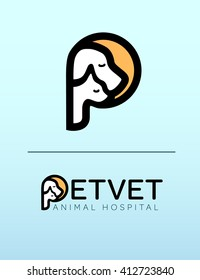 Modern Clean Veterinary Logo