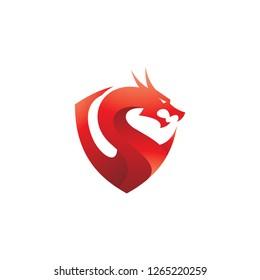 Dragon Sports Logo Images Stock Photos Vectors Shutterstock