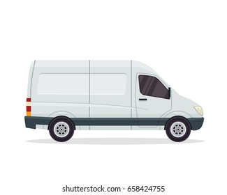 Modern Commercial Cargo Delivery Vehicle, Suitable for Corporate Branding, Game Asset, Mockup, and Other Illustration Purpose