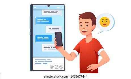 Men On Phone Clipart Images Stock Photos Vectors Shutterstock