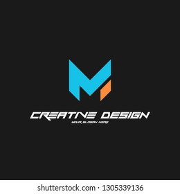 Modern, cool and interesting alphabet logo Can be applied to various media and game industries and so on.