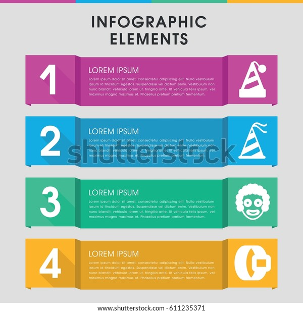 Modern Costume Infographic Template Infographic Design Stock