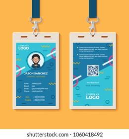 Modern Creative ID Card Template