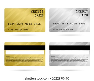 modern credit card, business VIP card, design for privilege member, member card
