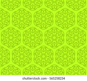 Modern decorative floral lace pattern. Luxury texture for wallpaper, invitation, decor, fabric. Vector illustration.