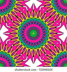 Modern decorative floral lace pattern. Creative Vector illustration. for design invitation, background, wallpaper