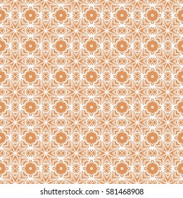 Modern decorative floral pattern. ethnic texture for wallpaper, invitation, decor, fabric. Vector illustration.