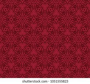 Modern Decorative geometric ornament. Vector illustration. For design, wallpaper