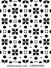 Modern decorative tile texture vector pattern shape design for many creative ideas
