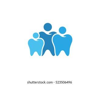 Modern Dental Logo Symbol - Family Dentistry