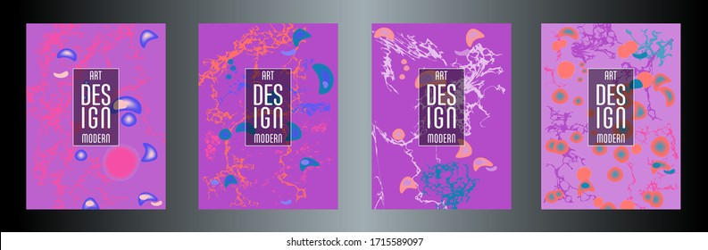 Modern design. Abstract marble texture of colored bright liquid paints. Splash trends paints. Used design presentations, print, flyer, business cards, invitations, calendars, sites, packaging, cover.