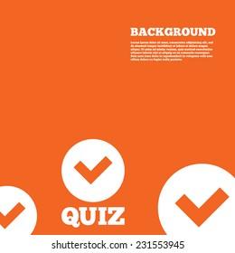 Quiz Poster Images, Stock Photos & Vectors | Shutterstock