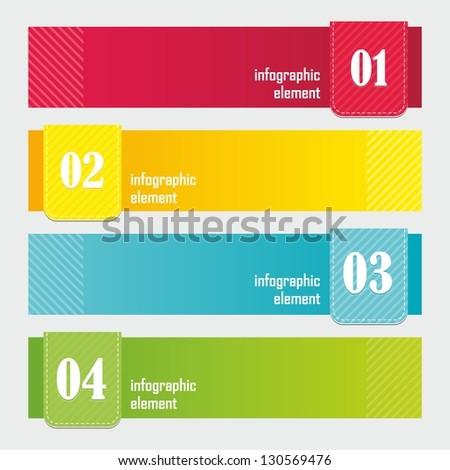modern design banner template website header のベクター画像素材