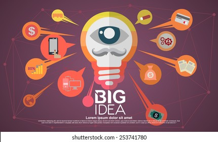 Modern Design Find new concepts and best. It will lead to a thought-provoking posters, brochures and website.