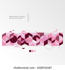 Modern Design Geometric Abstract background. minimalistic creative concept. vector eps10.