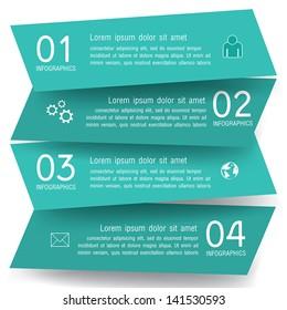 Modern Design infographics Vector EPS 10.