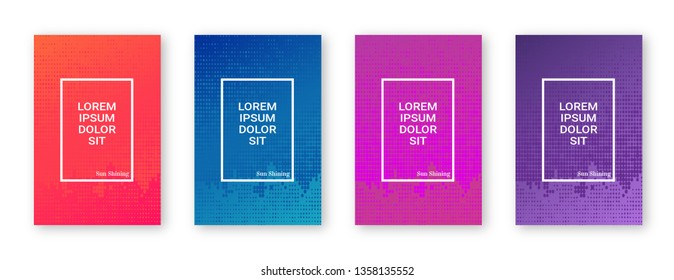 Modern design set vector design, this used banners, flyers, posts, and template.