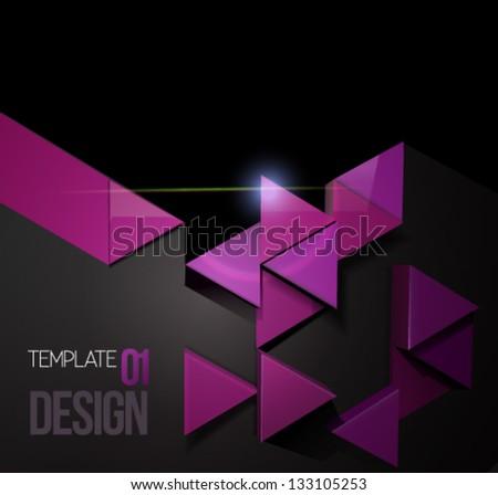 Modern design template 3 d vector art stock vector royalty free modern design template 3d vector art suitable for graphic web design can maxwellsz