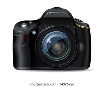 Modern digital reflex camera, original design