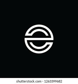 modern E logo