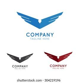 Modern Eagle Logo