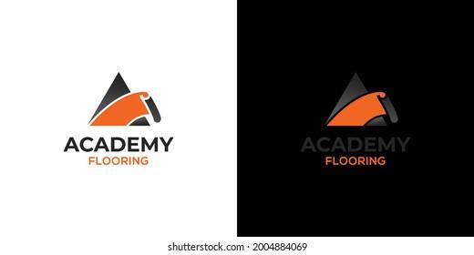 Modern and elegant carpet company logo design