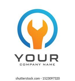 Modern Elegant Engineer Logo Template