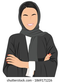 Modern Emirate Woman - Arab woman