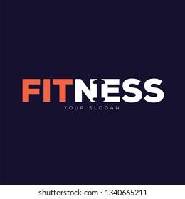 Modern Fitness Logo