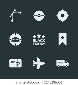Modern Flat Simple Vector icon set. Contains Icons  goal,  pin,  flight,  add,  travel,  delivery,  marketing,  success,  pattern, abstract,  navigation, friday,  modern, map,  plane,  sport,  arrow