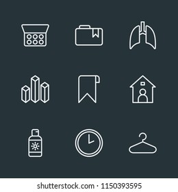 modern flat simple vector icon set contains icons minute medical cosmetic file