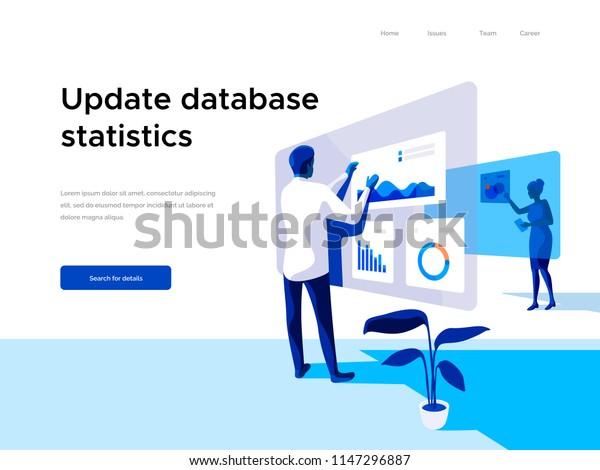 Web Sitesi Icin Web Sayfasi Tasarimi Stok Vektor Telifsiz 1147296887