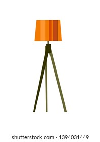 Modern Floor lamp. Vector illustration