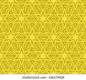 modern floral pattern of geometric ornament. Seamless vector illustration. for interior design, printing, wallpaper, decor, fabric, invitation.