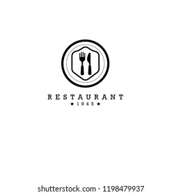 Modern Food Logo Design