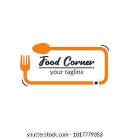 Modern Food Logo Design Template Vector Illustration. Suitable for Summer Celebration, Restaurant Logo, Party Invitation