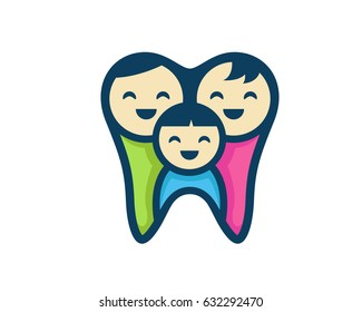 Modern Friendly Family Dental Clinic Logo